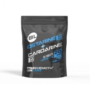 Ostarine + Cardarine (Tabs. 20mg/54ct/1080mg)